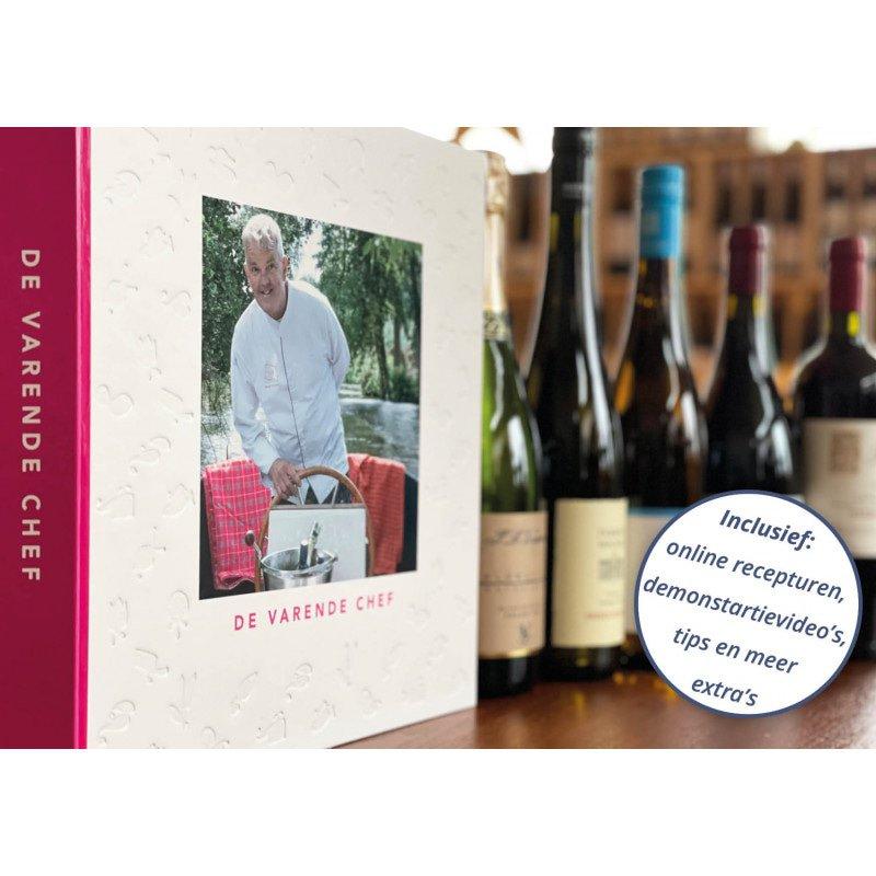 De Varende Chef, boek met 6 x 2 wijnen