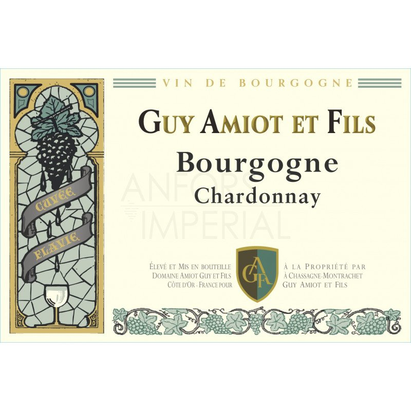 Bourgogne Chardonnay 'Cuvée Flavie' 2017 Domaine Amiot