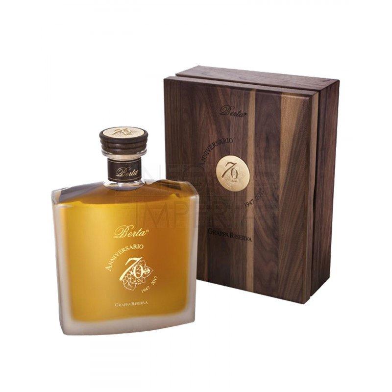 Grappa Riserva Anniversario 70 Anni Distillerie Berta