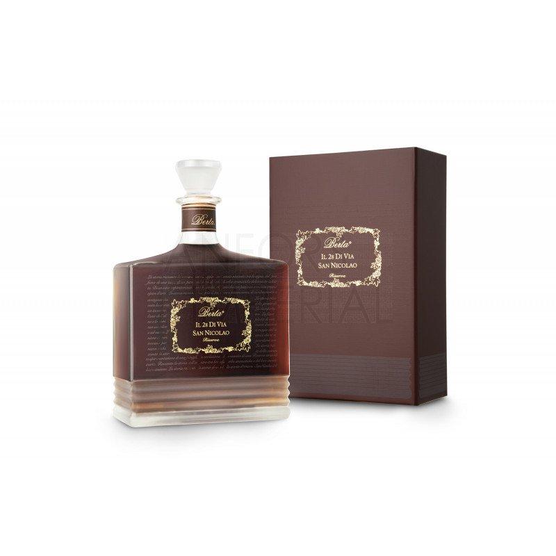 Amaro Riserva Il 28 Di Via San Nicolao Distillerie Berta