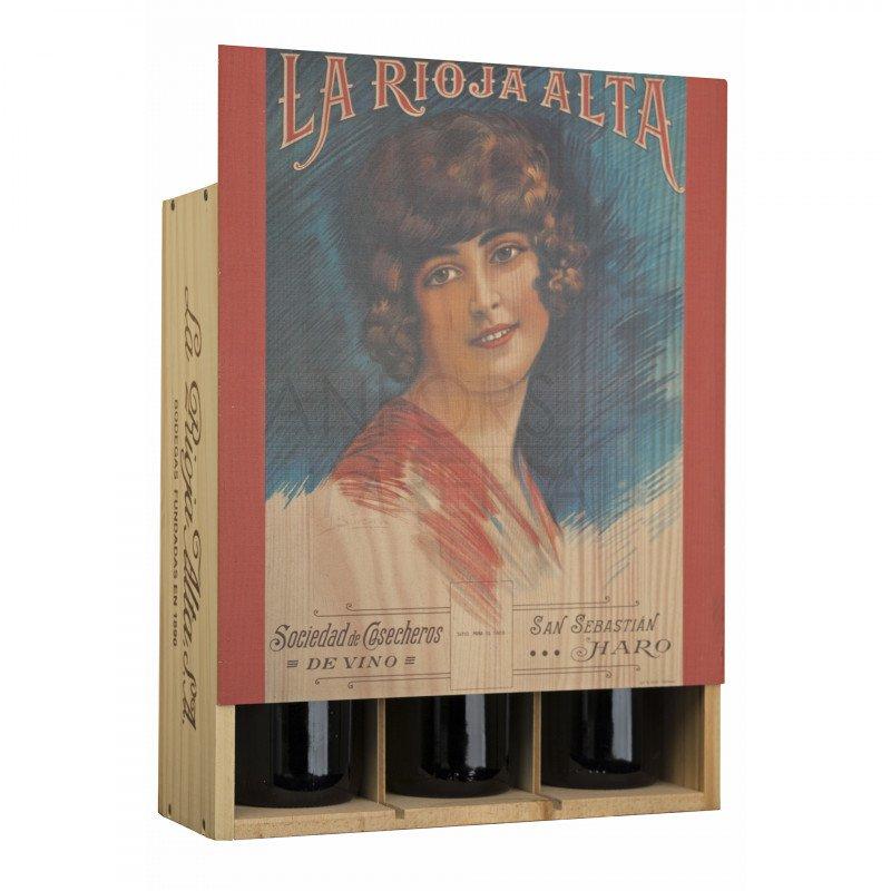 Giftbox 3 bottles La Rioja Alta type A