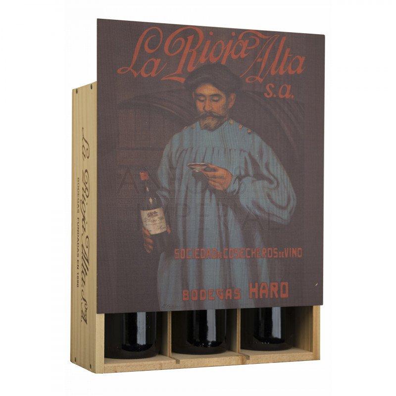 Giftbox 3 bottles La Rioja Alta type B