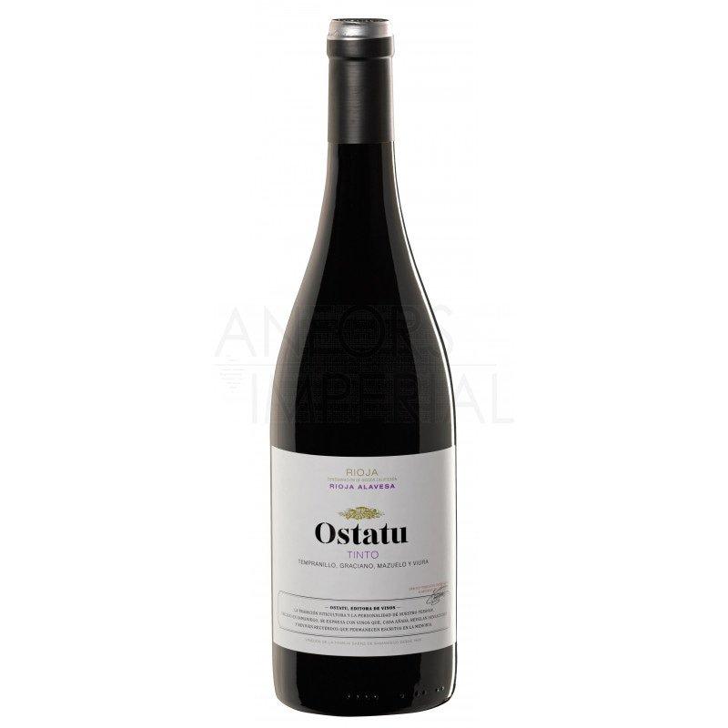 Rioja Tinto 2018 Ostatu