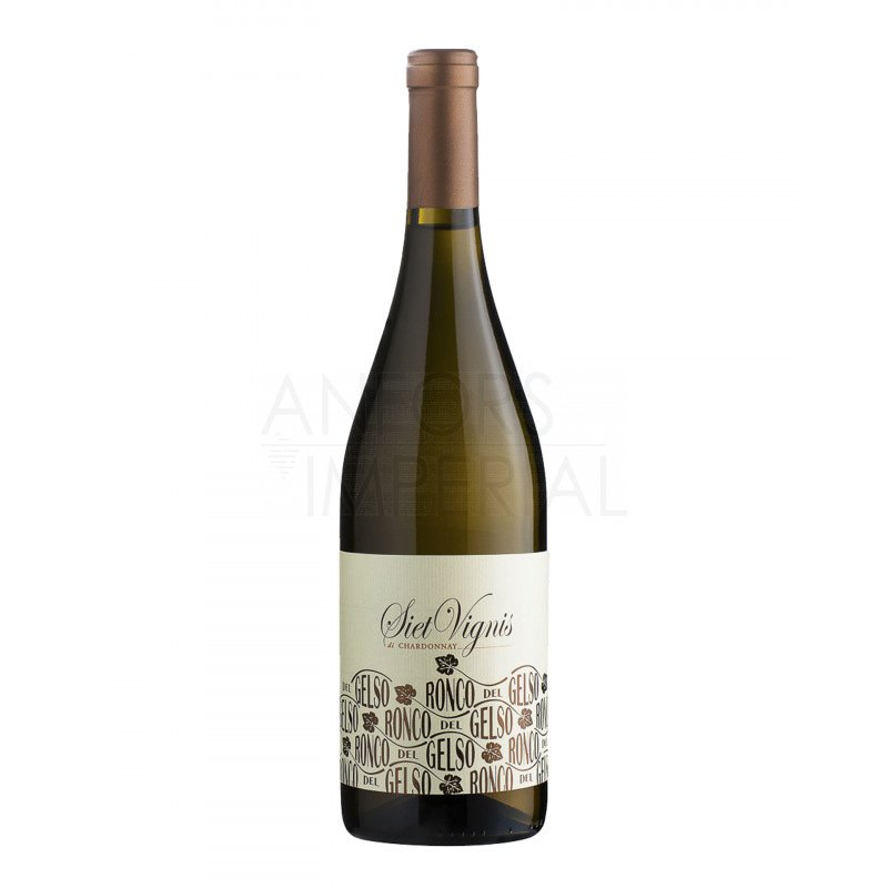 Isonzo Chardonnay 'Siet Vignis' 2016 R. del Gelso