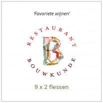 Favoriete wijnen van Restaurant Bouwkunde