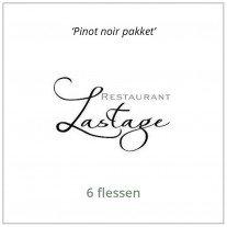 Pinot Noir pakket van Lastage