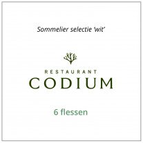 Sommelier Selectie 'Wit' - Restaurant Codium